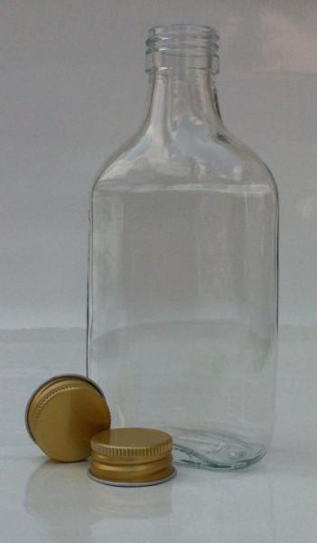 1 stk. 20cl/200ml Taschenflasche inkl. Aluminiumdeckel