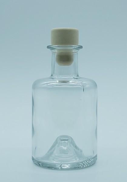 1 stk.20cl/200ml Apothekerflasche inkl. PE-Holzgriffstopfen