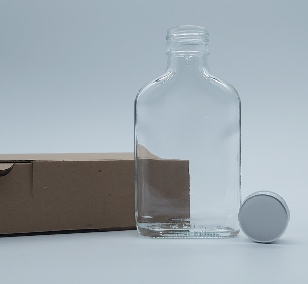 100 stk. 10cl Taschenflasche inkl. 50 Maxiboxen