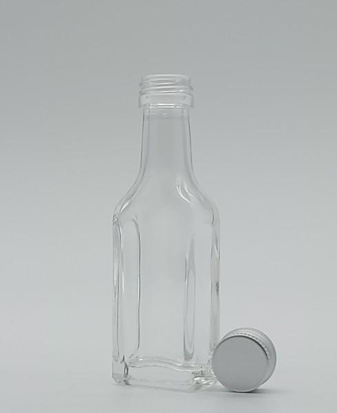 1 stk. 2cl/20ml Kirschwasserflasche inkl. Aluminiumdeckel