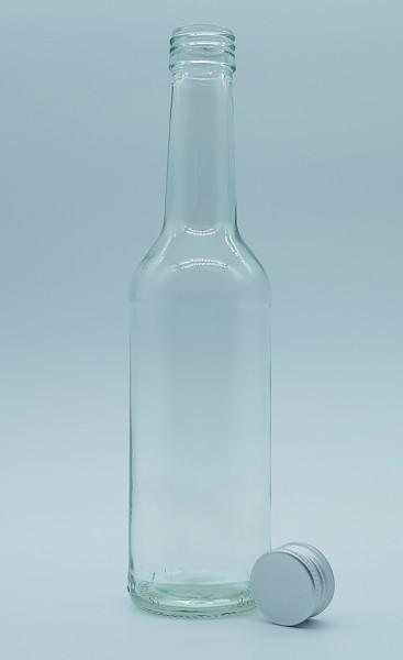 1 stk. 35cl / 350ml Geradhalsflasche inkl. Aluminiumdeckel