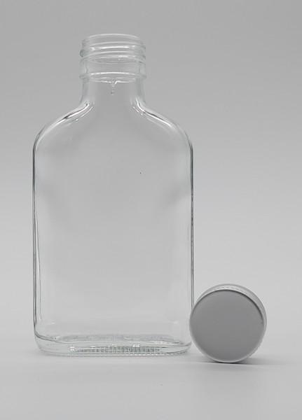 1 stk. 10cl/100ml Taschenflasche inkl. Aluminiumdeckel
