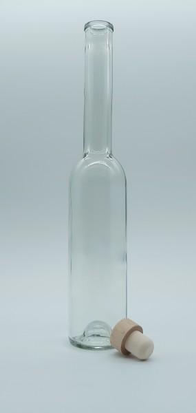 """1 stk. 50cl / 500ml Spirituosenflasche """"OPRA"""" inkl. Stopfen"""
