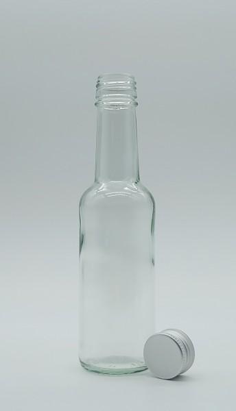 1 stk. 20cl / 200ml Geradhalsflasche inkl. Aluminiumdeckel