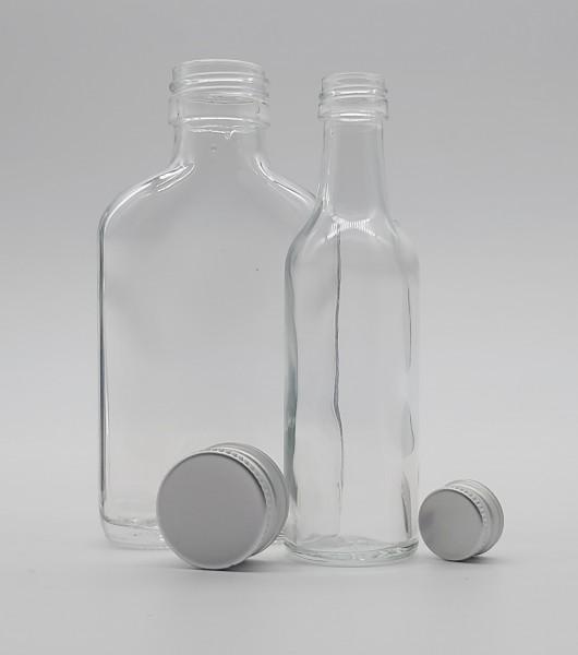 5cl / 10cl XXS Starterpaket + 50x 10cl Taschenflaschen