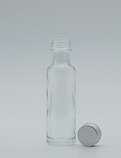 1 stk. 2cl/20ml Krughalsflasche inkl. Aluminiumdeckel